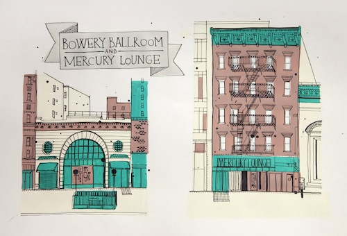 Drawing Buildings in NYC
